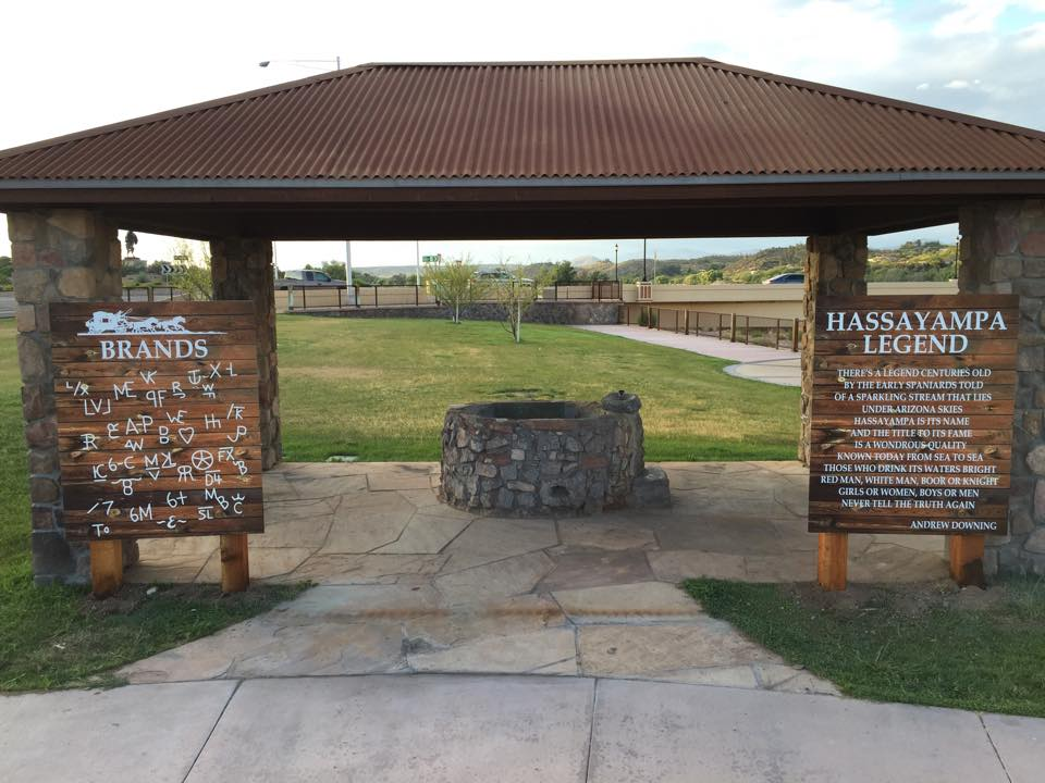 Wishing Well Brands and Legend of Hassayampa Signs